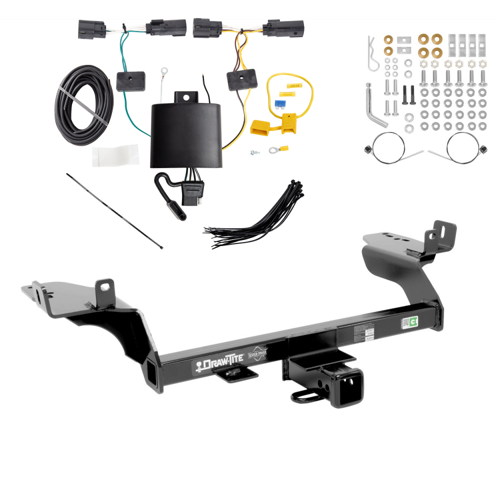 Trailer Tow Hitch For 2019 Ford Escape w/ Wiring Harness Kit