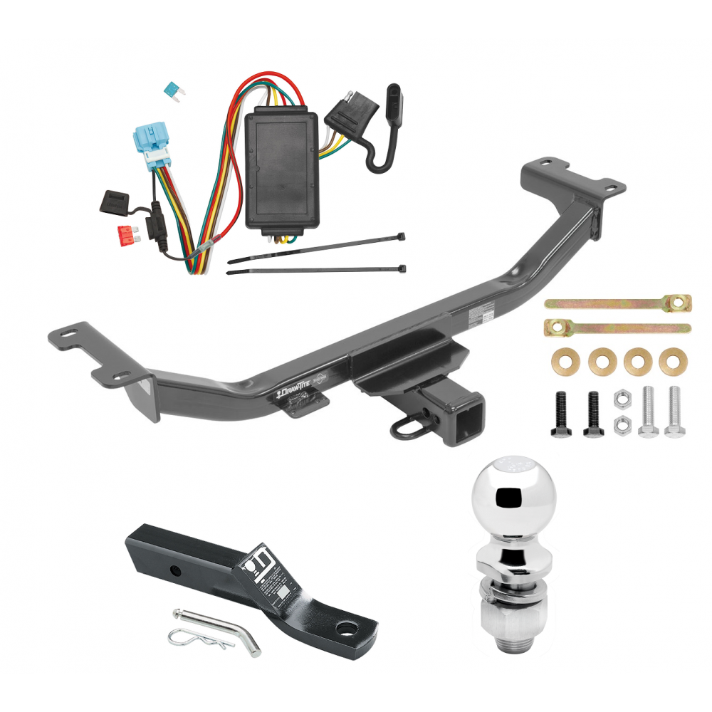 Trailer Tow Hitch For 10-12 Acura RDX Complete Package W