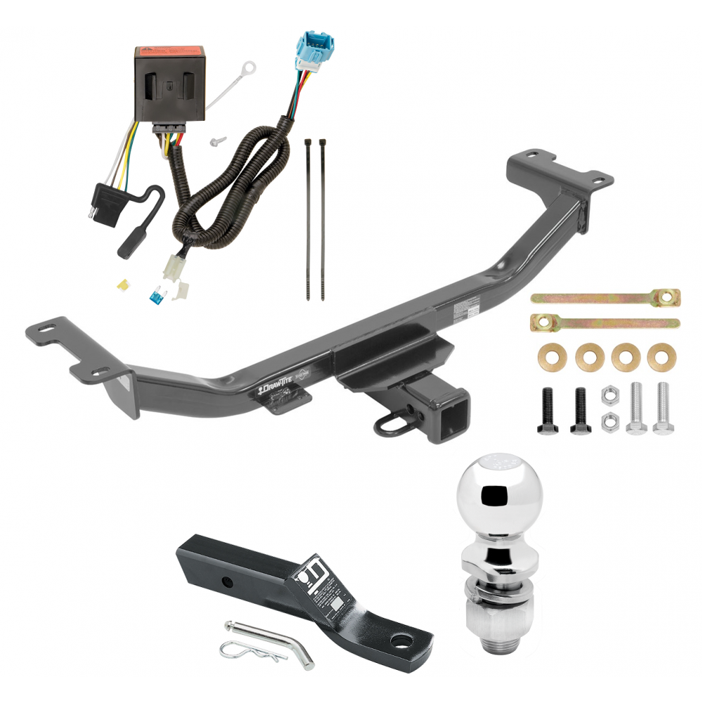 Trailer Tow Hitch For 13-18 Acura RDX Complete Package W