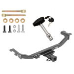 Trailer Tow Hitch For 10-18 Acura RDX w/ Security Lock Pin Key