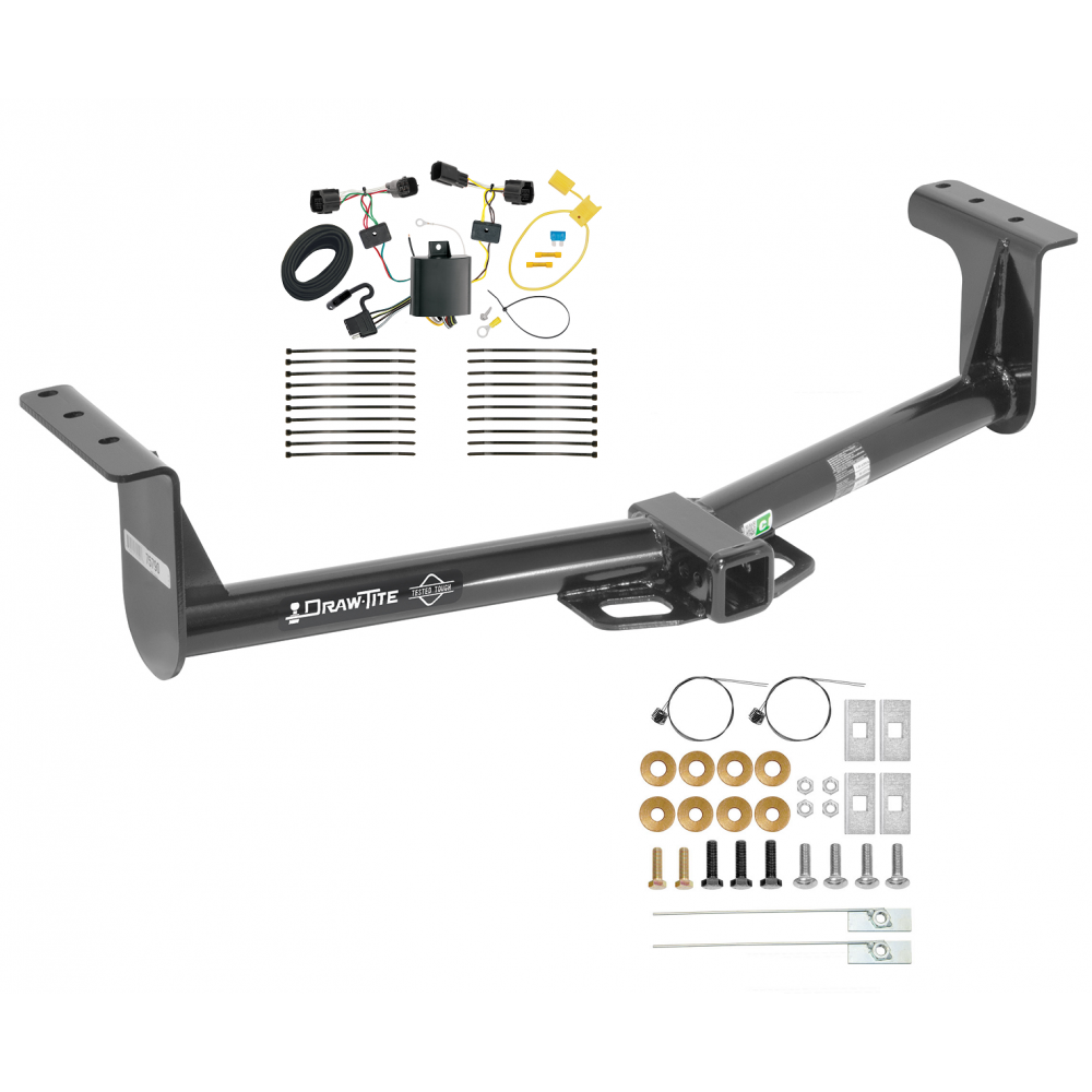 trailer tow hitch for 13 16 ford ranger w wiring harness kit. Black Bedroom Furniture Sets. Home Design Ideas