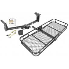 Trailer Tow Hitch For 13-16 Ford Ranger Basket Cargo Carrier Platform Hitch Lock and Cover