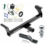 """Trailer Tow Hitch For 2013 Isuzu D-Max Complete Package w/ Wiring and 1-7/8"""" Ball"""