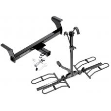 Trailer Tow Hitch For 2013 Isuzu D-Max Platform Style 2 Bike Rack w/ Anti Rattle Hitch Lock