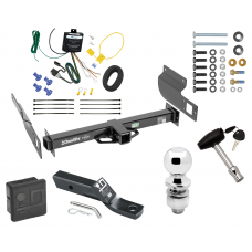 "Trailer Tow Hitch For 13-19 Volkswagen Amarok International Only Deluxe Package Wiring 2"" Ball and Lock"
