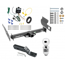 "Trailer Tow Hitch For 13-19 Volkswagen Amarok International Only Complete Package w/ Wiring and 2"" Ball"