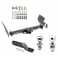 "Trailer Tow Hitch For 13-19 Volkswagen Amarok International Only Receiver w/ 1-7/8"" and 2"" Ball"