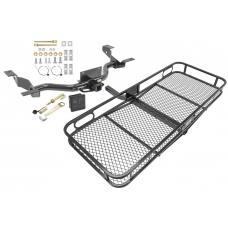 Trailer Tow Hitch For 14-20 RAM ProMaster 1500 2500 (3500 w/o Extended Body) Basket Cargo Carrier Platform Hitch Lock and Cover