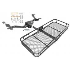 Trailer Tow Hitch For 14-19 RAM ProMaster 1500 2500 (3500 w/o Extended Body) Basket Cargo Carrier Platform w/ Hitch Pin