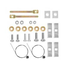 Trailer Tow Hitch Hardware Bolt Fastener Kit For 14-20 RAM ProMaster 1500 2500 3500 without Extended Body