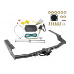 Trailer Tow Hitch For 14-19 Toyota Highlander w/ Wiring Harness Kit