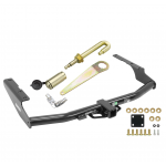 """Trailer Tow Hitch For 14-19 Toyota Highlander 18-20 Lexus RX350L Class 3 2"""" Receiver w/ J-Pin Anti-Rattle Lock"""
