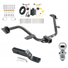 """Trailer Tow Hitch For 15-18 Chevy City Express 13-19 Nissan NV200 Complete Package w/ Wiring and 1-7/8"""" Ball"""