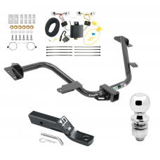 "Trailer Tow Hitch For 15-18 Chevy City Express 13-20 Nissan NV200 Complete Package w/ Wiring and 2"" Ball"