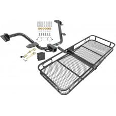 Trailer Tow Hitch For 15-18 Chevy City Express 13-20 Nissan NV200 Basket Cargo Carrier Platform Hitch Lock and Cover