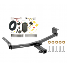 Trailer Tow Hitch For 08-20 Nissan Rogue except Sport or Krom w/ Wiring Harness Kit