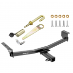 "Trailer Tow Hitch For 08-19 Nissan Rogue Class 3 2"" Towing Receiver w/ J-Pin Anti-Rattle Lock"