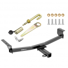 "Trailer Tow Hitch For 08-20 Nissan Rogue Class 3 2"" Towing Receiver w/ J-Pin Anti-Rattle Lock"