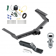 """Trailer Tow Hitch For 2014 Toyota Prado Complete Package w/ Wiring and 1-7/8"""" Ball"""