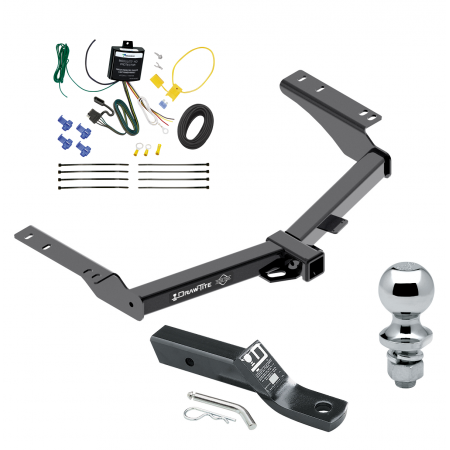 "Trailer Tow Hitch For 2014 Toyota Prado Complete Package w/ Wiring and 1-7/8"" Ball"