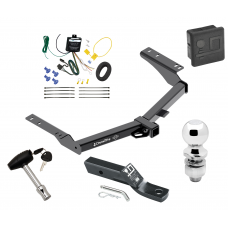 """Trailer Tow Hitch For 2014 Toyota Prado Deluxe Package Wiring 2"""" Ball and Lock"""
