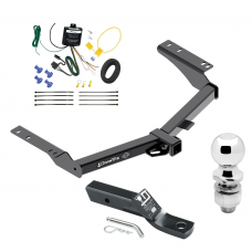 "Trailer Tow Hitch For 2014 Toyota Prado Complete Package w/ Wiring and 2"" Ball"