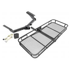 Trailer Tow Hitch For 2014 Toyota Prado Basket Cargo Carrier Platform Hitch Lock and Cover