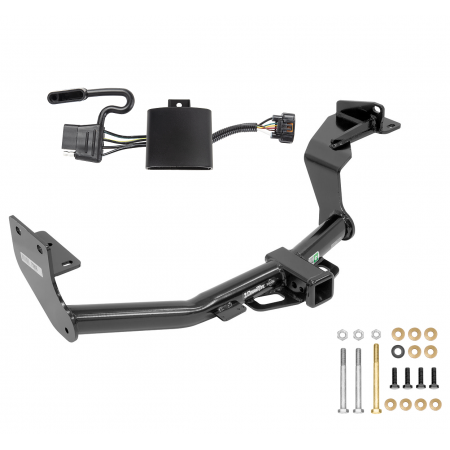 Trailer Tow Hitch For 19-20 Hyundai Santa Fe New Body Style w/ Wiring Harness Kit