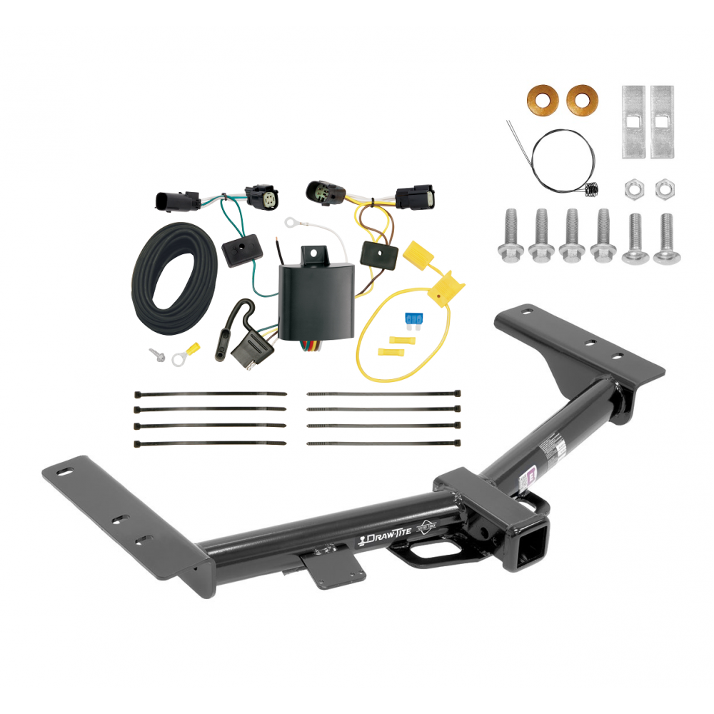 [DIAGRAM_3NM]  Trailer Tow Hitch For 15-20 Ford Transit 150 250 350 w/ Wiring Harness Kit | Ford Trailer Tow Harness |  | TrailerJacks.com