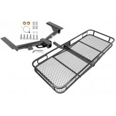 Trailer Tow Hitch For 15-20 Ford Transit 150 250 320 Basket Cargo Carrier Platform w/ Hitch Pin