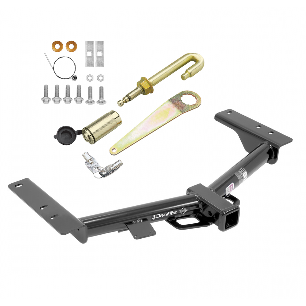 """Trailer Tow Hitch For 15-19 Ford F-150 2/"""" Towing Receiver Class 3 NO DRILL New"""