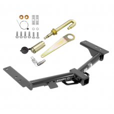 "Trailer Tow Hitch For 15-20 Ford Transit 150 250 320 Class 3 2"" Towing Receiver w/ J-Pin Anti-Rattle Lock"
