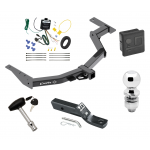 """Trailer Tow Hitch For 2014 Toyota Hilux SW4 Deluxe Package Wiring 2"""" Ball and Lock"""