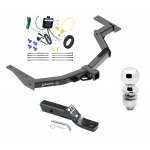 """Trailer Tow Hitch For 2014 Toyota Hilux SW4 Complete Package w/ Wiring and 2"""" Ball"""