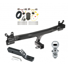 "Trailer Tow Hitch For 08-10 Volvo V70 Wagon Complete Package w/ Wiring and 1-7/8"" Ball"