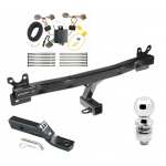 "Trailer Tow Hitch For 14-18 Volvo S60 Sedan Complete Package w/ Wiring and 2"" Ball"