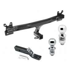 "Trailer Tow Hitch For 11-18 Volvo S60 15-17 V60 08-10 V70 08-16 XC70 Receiver w/ 1-7/8"" and 2"" Ball"