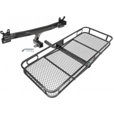 Trailer Tow Hitch For 08-18 Volvo S60 V60 V70 XC70 Basket Cargo Carrier Platform w/ Hitch Pin