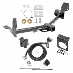 "Trailer Tow Hitch w/ 7-Way RV Wiring For 15-19 Ford F-150 Harness Kit Mounting Bracket 2"" Tow Receiver"