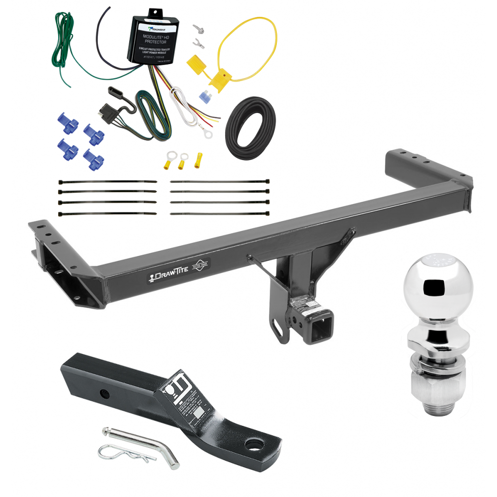 Trailer Tow Hitch For 13-17 Audi Q5 Complete Package w/ Wiring ... | Audi Q5 Trailer Wiring Harness |  | Trailer Jack