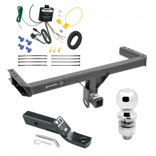 """Trailer Tow Hitch For 11-12 Audi Q5 15-17 Porsche Macan Complete Package w/ Wiring and 1-7/8"""" Ball"""