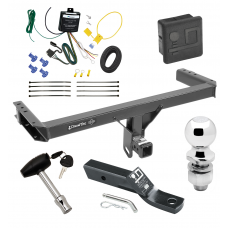 """Trailer Tow Hitch For 11-12 Audi Q5 15-17 Porsche Macan Deluxe Package Wiring 2"""" Ball and Lock"""