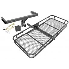Trailer Tow Hitch For 11-17 Audi Q5 Porshe Macan Basket Cargo Carrier Platform Hitch Lock and Cover