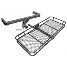 Trailer Tow Hitch For 11-17 Audi Q5 Porshe Macan Basket Cargo Carrier Platform w/ Hitch Pin