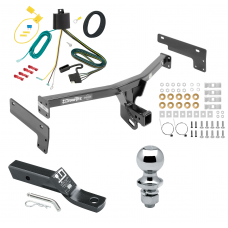 """Trailer Tow Hitch For 15-17 Lincoln MKC Complete Package w/ Wiring and 1-7/8"""" Ball"""