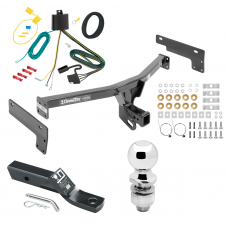 """Trailer Tow Hitch For 15-17 Lincoln MKC Complete Package w/ Wiring and 2"""" Ball"""