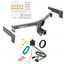 Trailer Tow Hitch For 15-17 Lincoln MKC w/ Wiring Harness Kit
