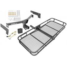 Trailer Tow Hitch For 15-19 Lincoln MKC Basket Cargo Carrier Platform Hitch Lock and Cover