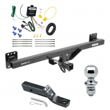 "Trailer Tow Hitch For 07-16 Audi Q7 11-17 Porsche Cayenne Complete Package w/ Wiring and 1-7/8"" Ball"