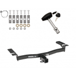 Trailer Tow Hitch For 07-14 Ford Edge 07-15 Lincoln MKX w/ Security Lock Pin Key